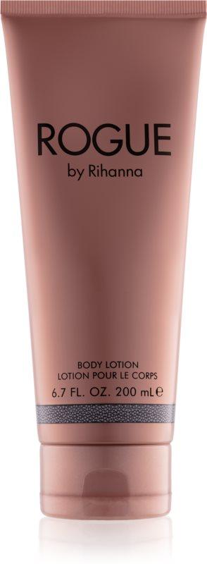 Rihanna Rogue telové mlieko pre ženy 200 ml