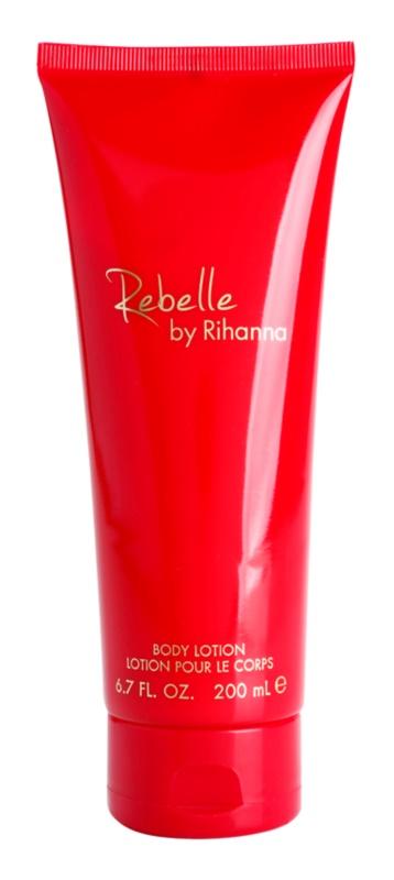 Rihanna Rebelle tělové mléko pro ženy 200 ml