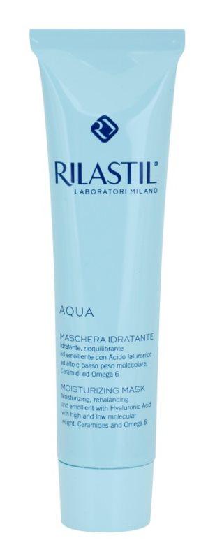 Rilastil Aqua hydratačná maska  s kyselinou hyalurónovou