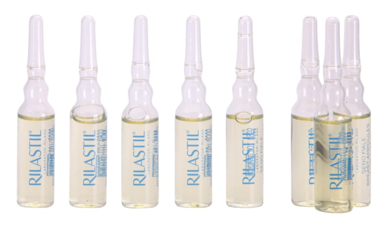 Rilastil Breast serum ujędrniające do dekoltu i biustu w ampułkach