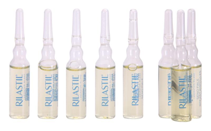 Rilastil Breast spevňujúce sérum na dekolt a poprsie v ampulkách
