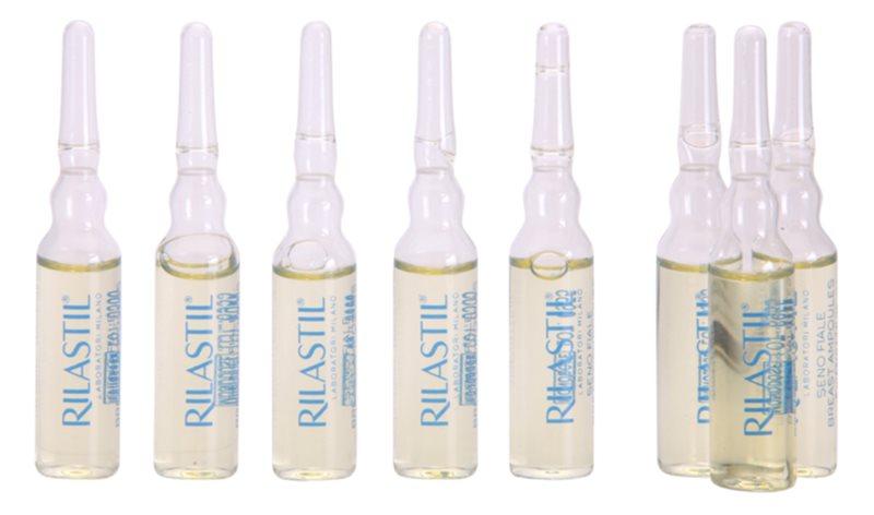 Rilastil Breast зміцнююча сироватка для зони декольте і бюсту в ампулах