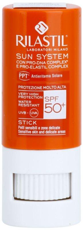 Rilastil Sun System Beschermende Balsem voor Lippen en Gevoelige plekjes  SPF50+