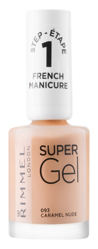 Rimmel Super Gel Step 1 gelový lak na francouzskou manikúru