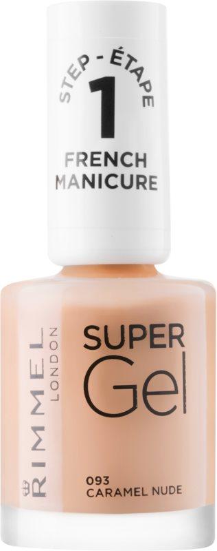 Rimmel Super Gel Step 1 gélový lak na francúzsku manikúru