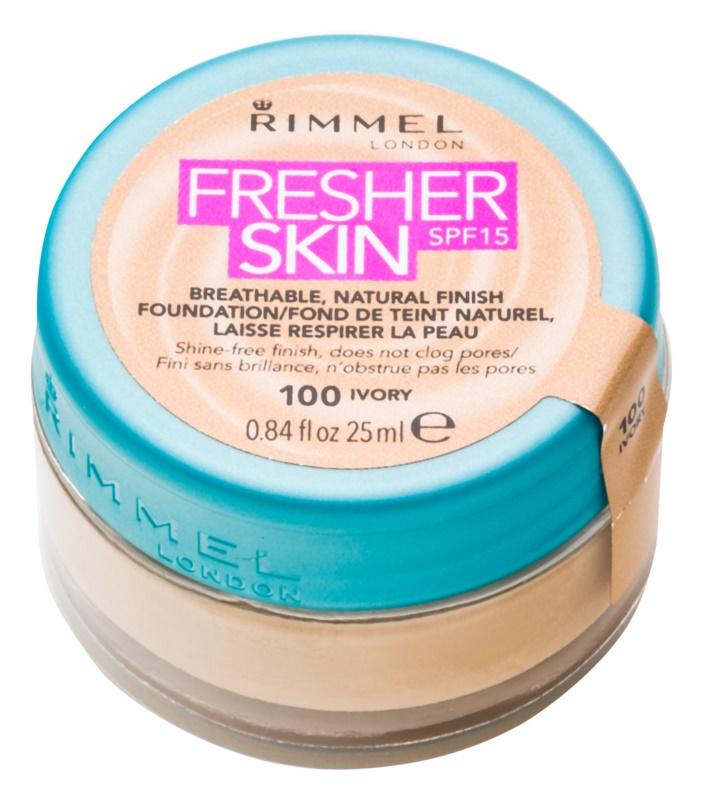 Rimmel Fresher Skin maquillaje ultra ligero SPF 15