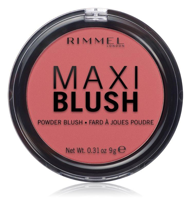 Rimmel Maxi Blush pudrová tvářenka