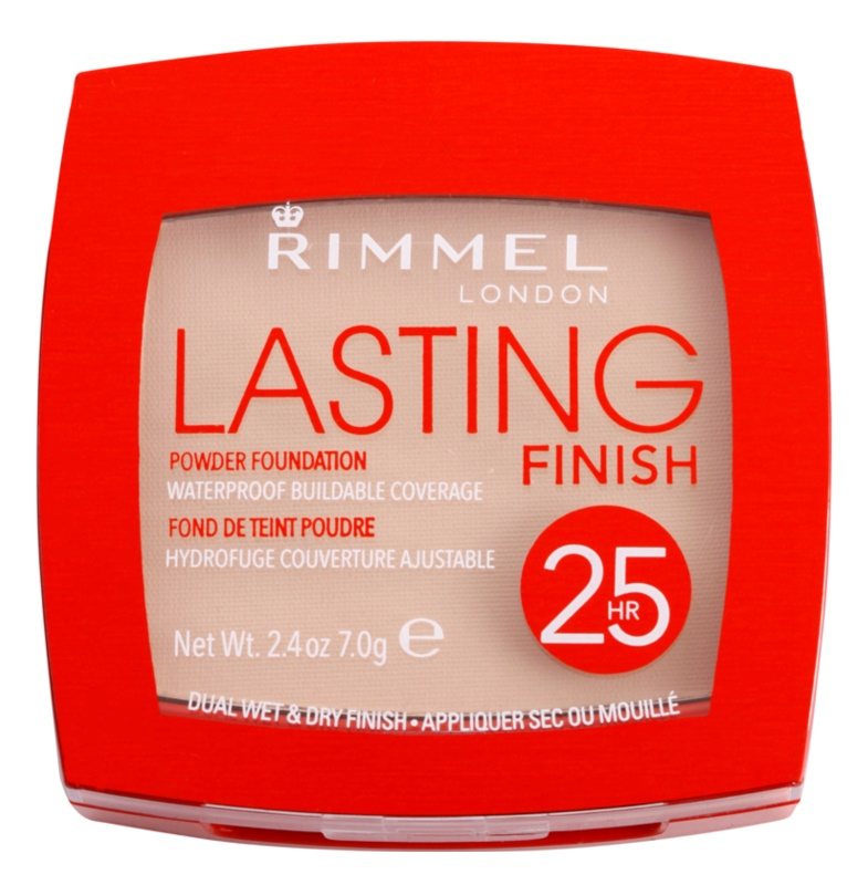 Rimmel Lasting Finish 25H ultra ľahký púder