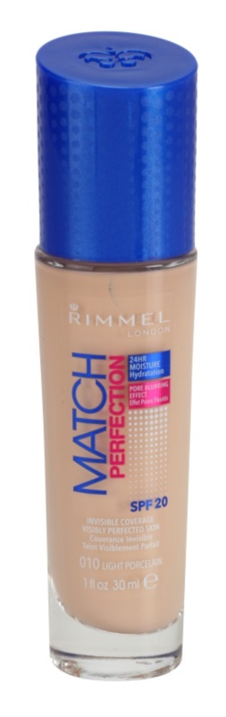 Rimmel Match Perfection fond de teint liquide SPF 20