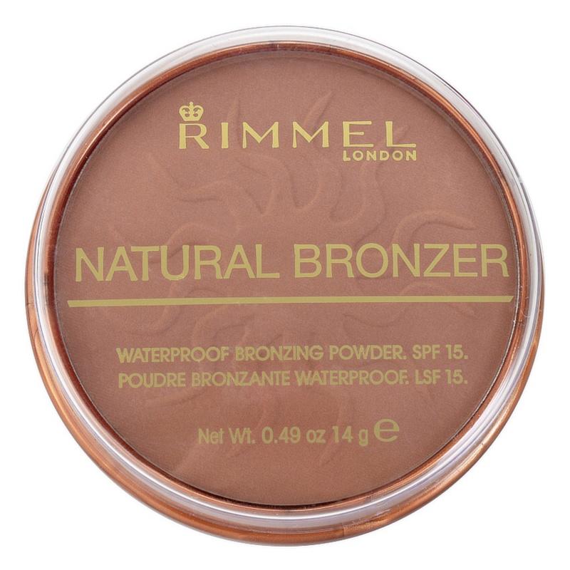 Rimmel Natural Bronzer polvos resistentes al agua efecto bronceado SPF15