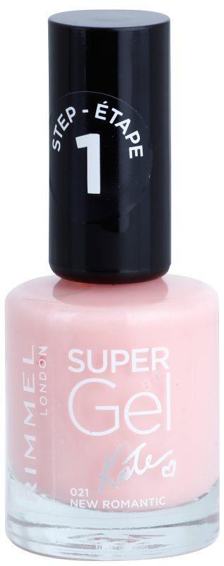 Rimmel Super Gel By Kate gel lak za nohte brez uporabe UV/LED lučke