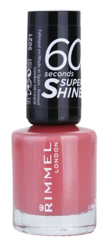 Rimmel 60 Seconds Super Shine лак для нігтів