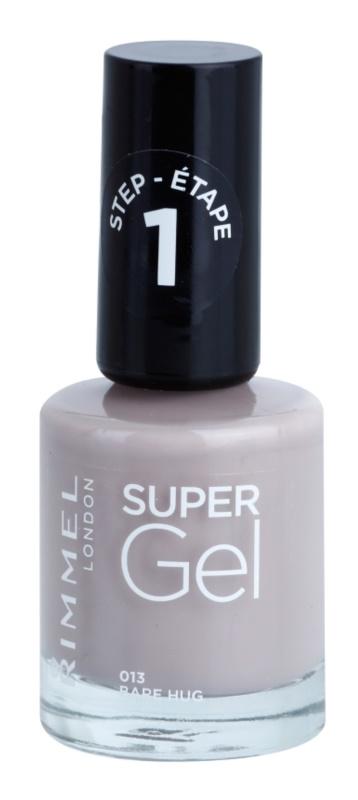Rimmel Super Gel Step 1 Gel-Lack für Fingernägel - keine UV/LED Lampe erforderlich