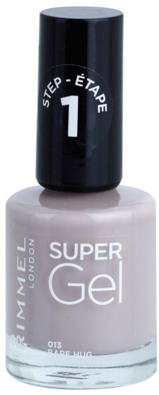 Rimmel Super Gel Step 1 gel lak za nohte brez uporabe UV/LED lučke