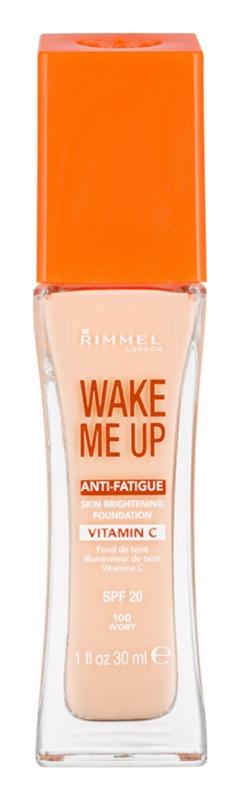 Rimmel Wake Me Up rozjasňující tekutý make-up SPF 20