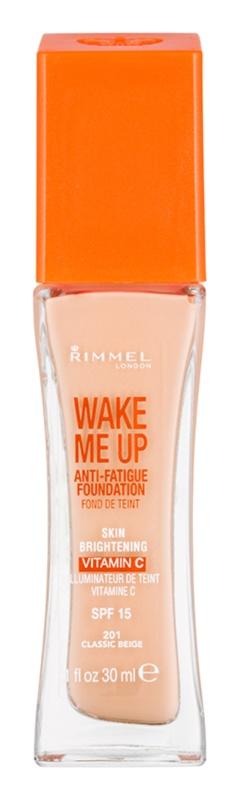 Rimmel Wake Me Up rozjasňující tekutý make-up SPF 15