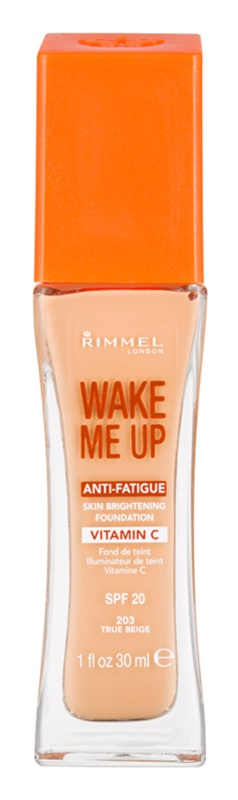Rimmel Wake Me Up rozjasňující tekutý make-up SPF 20