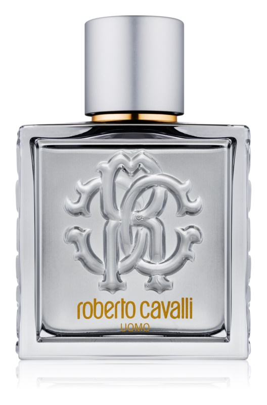 Roberto Cavalli Uomo Silver Essence Eau de Toilette Herren 100 ml