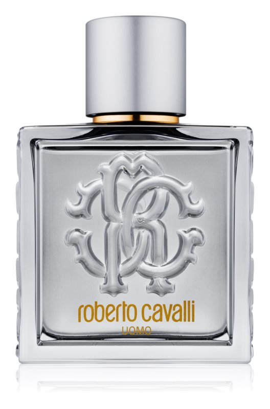 Roberto Cavalli Uomo Silver Essence eau de toilette pentru barbati 100 ml