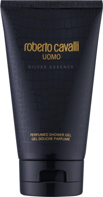 Roberto Cavalli Uomo Silver Essence Shower Gel for Men 150 ml
