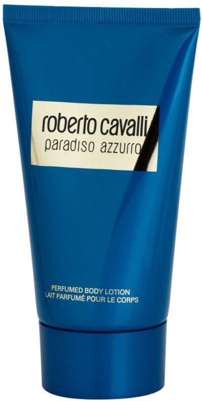 Roberto Cavalli Paradiso Azzurro telové mlieko pre ženy 150 ml