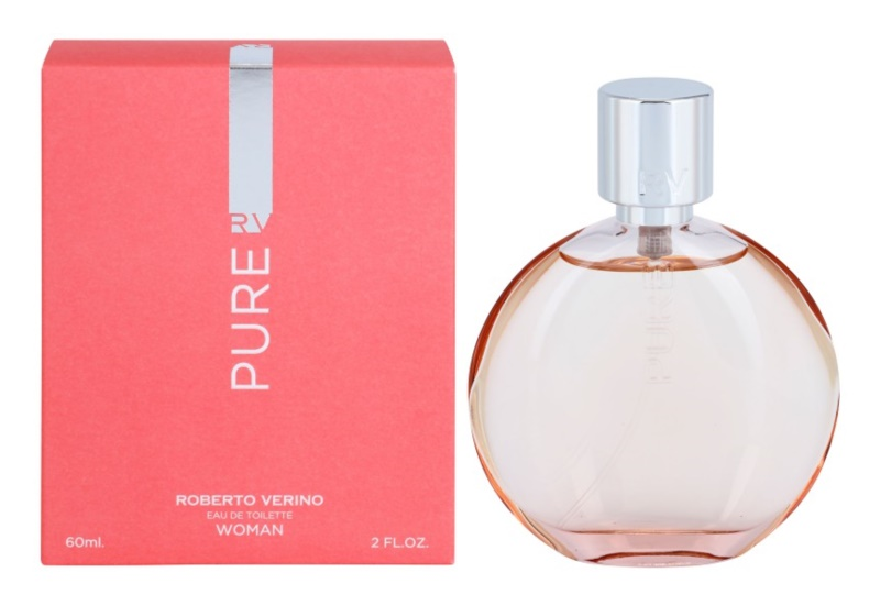 Roberto Verino Pure For Her eau de toilette nőknek 60 ml