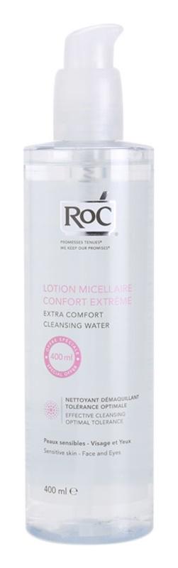 RoC Démaquillant micelláris víz az érzékeny arcbőrre