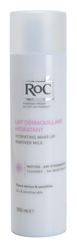 RoC Démaquillant hydratačné odličovacie mlieko pre citlivú a suchú pleť