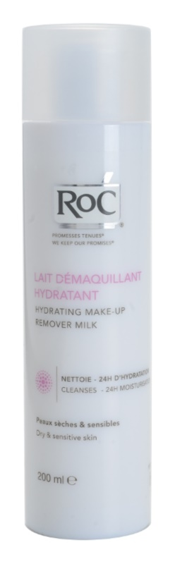 RoC Démaquillant Hydrating Makeup Removing Milk for Sensitive and Dry Skin