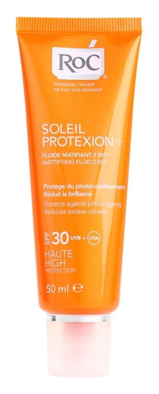 RoC Soleil Protect matující fluid na opalování SPF 30
