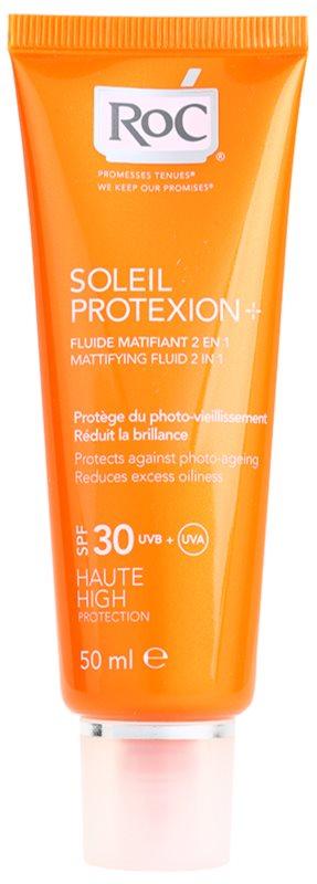ROC SOLEIL PROTEXION+ Sun Mattifying Fluid SPF 30  b324d3ef6d3