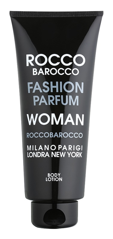 Roccobarocco Fashion Woman lotion corps pour femme 400 ml
