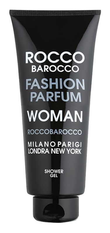 Roccobarocco Fashion Woman Shower Gel for Women 400 ml