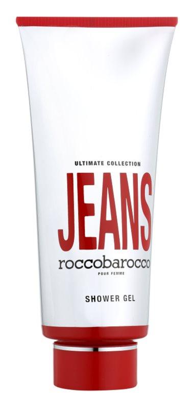 Roccobarocco Jeans Pour Femme Duschgel für Damen 400 ml