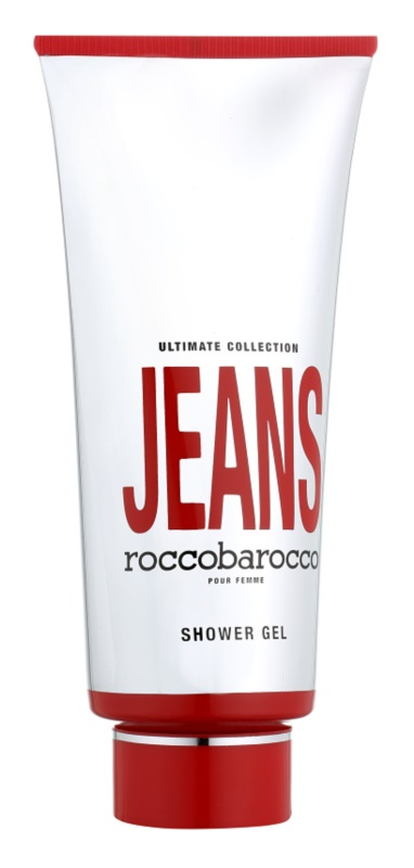 Roccobarocco Jeans Pour Femme gel douche pour femme 400 ml