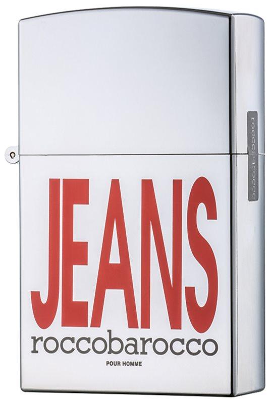 Roccobarocco Jeans Pour Homme eau de toilette férfiaknak 75 ml