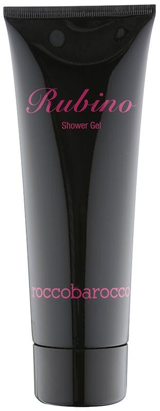Roccobarocco Rubino gel doccia per donna 250 ml
