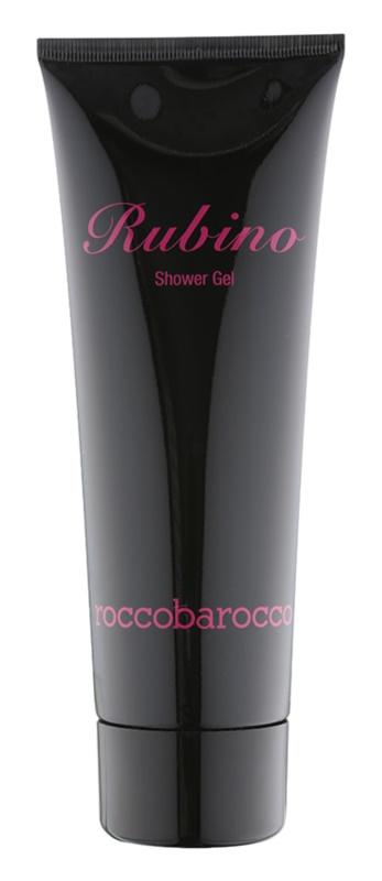 Roccobarocco Rubino żel pod prysznic dla kobiet 250 ml