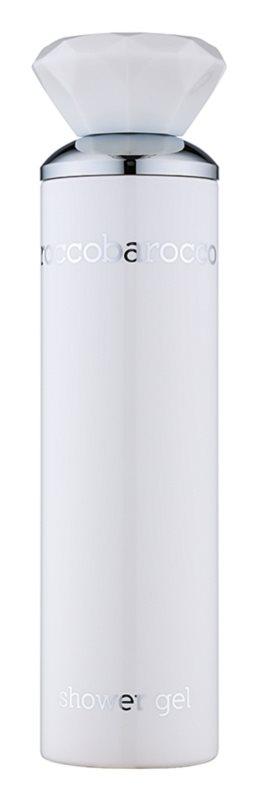 Roccobarocco White For Women żel pod prysznic dla kobiet 250 ml