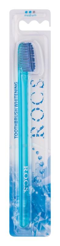R.O.C.S. Whitening cepillo de dientes medio
