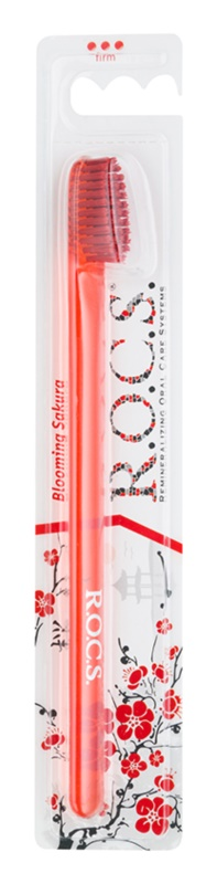 R.O.C.S. Blooming Sakura Professional zubní kartáček hard