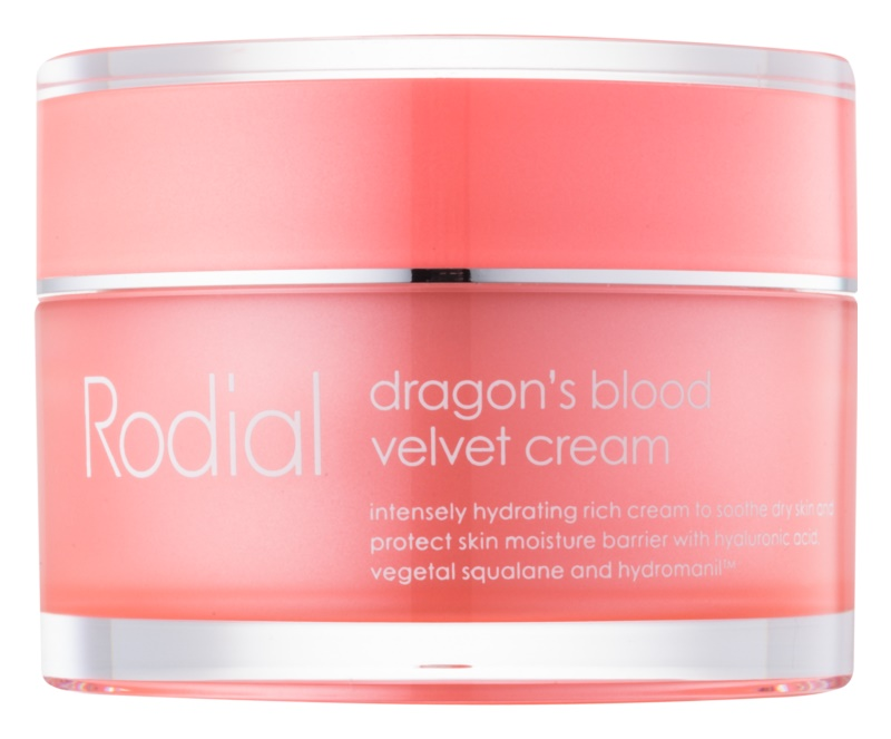 Rodial Dragon's Blood Face Crean with Hyaluronic Acid for Dry Skin