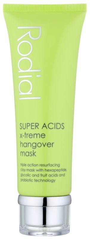 Rodial Super Acids jílová maska pro obnovu povrchu pleti