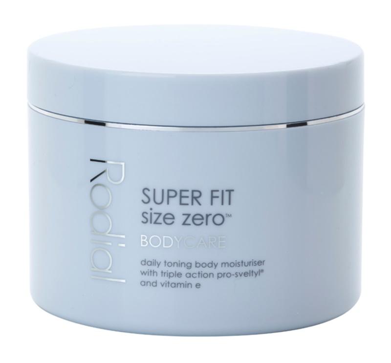 Rodial Super Fit hidratáló testkrém a bőr feszességéért