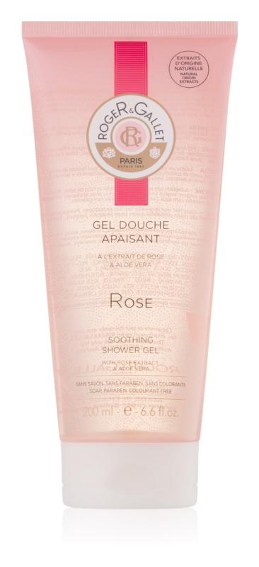 Roger & Gallet Rose zklidňující sprchový gel