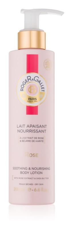 Roger & Gallet Rose Soothing Body Milk For Dry Skin