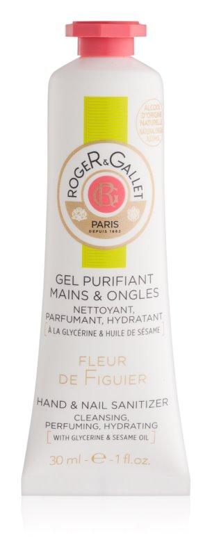 Roger & Gallet Fleur de Figuier очисний гель для рук