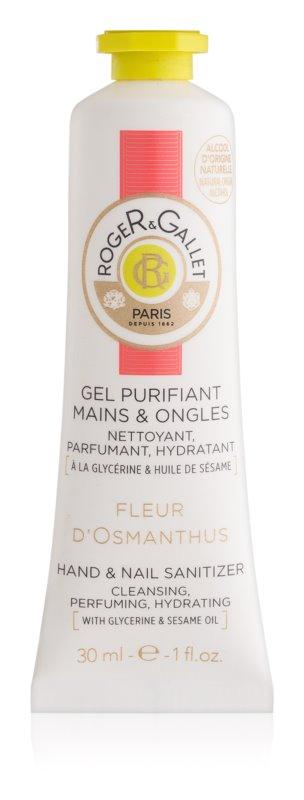 Roger & Gallet Fleur d'Osmanthus čisticí gel na ruce