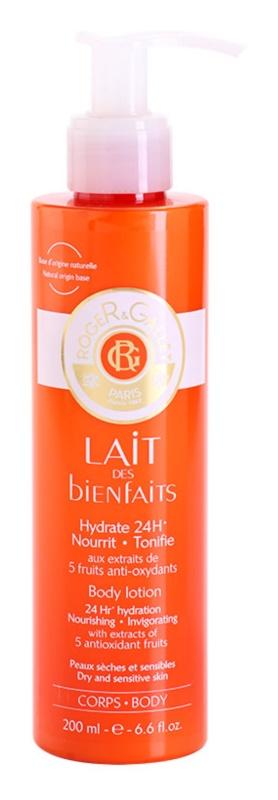 Roger & Gallet Bienfaits hydratisierende Körpermilch für trockene und empfindliche Haut