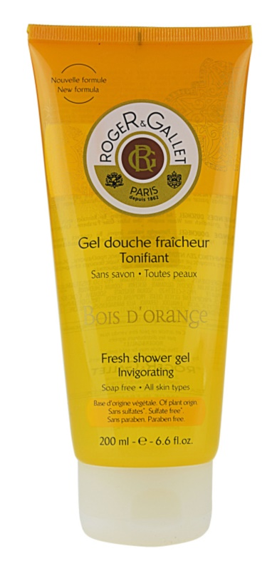 Roger & Gallet Bois d'Orange gel de ducha refrescante